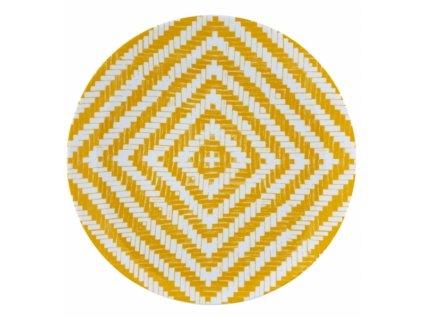 19002 vista alegre plytky tanier zlty 27 7 cm olhar o brasil