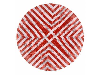19005 vista alegre plytky tanier cerveny 27 7 cm olhar o brasil