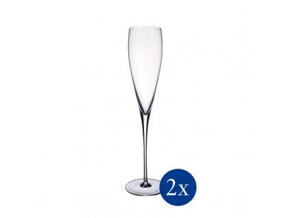 Villeroy & Boch - Pohár Champagne, set 2 kusov - Allegorie Premium