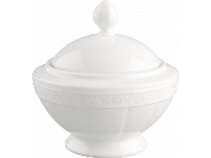 Villeroy & Boch - cukornička - White Pearl