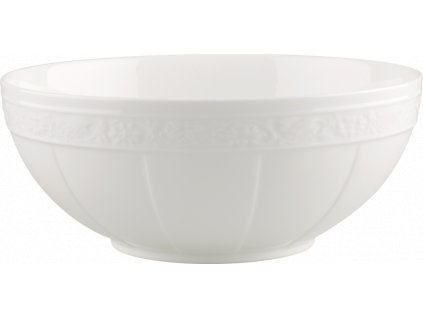 Villeroy & Boch - šalátová misa 24 cm - White Pearl