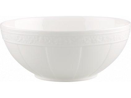 Villeroy & Boch - šalátová misa 21 cm - White Pearl
