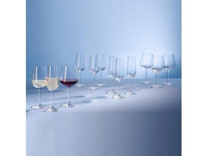 19644 villeroy amp boch set 12 ks poharov 4x na sampanske 4x na biele vino 4x na cervene vino ovid