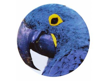 20016 vista alegre servirovaci tanier modry papagaj 32 cm olhar o brasil