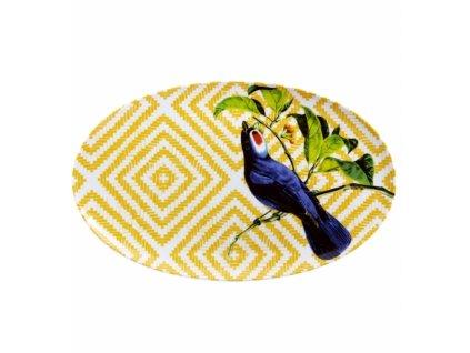 20076 vista alegre ovalny tanier 39 4 x 24 5 cm olhar o brasil