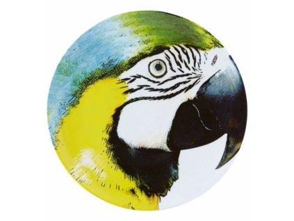 20079 vista alegre servirovaci tanier zlty papagaj 32 cm olhar o brasil