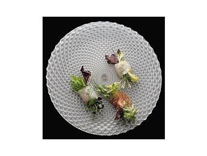 20259 nachtmann servirovaci tanier kristal 32 cm biely rumba