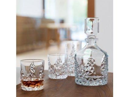 20412 nachtmann set whisky sculpture karafa a 2 ks poharov