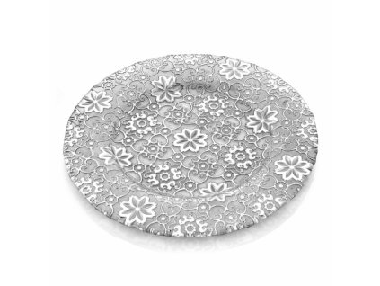 21162 ivv arabesque servirovaci tanier 32 cm strieborny