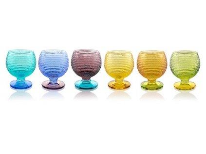 21198 ivv multicolor set 6 ks poharov na liker