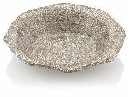 21219 ivv diamante hlboky tanier 24 cm bezovy