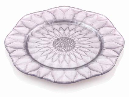 21237 ivv loto servirovaci tanier 35 5 cm ruzovy