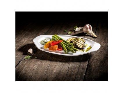 21567 villeroy and boch bbq passion 2x tanier na grilovanu zeleninu 33x22 cm