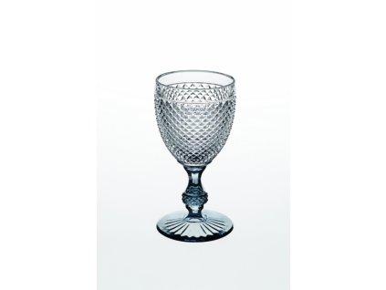 22011 vista alegre dvojfarebny pohar na vino vodu sivy bicos