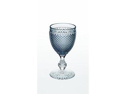 22023 vista alegre dvojfarebny pohar na vino vodu sivy bicos