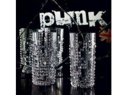 22038 nachtmann pohar na longdrink set 4 ks punk