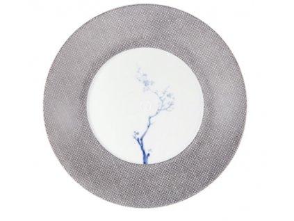 22827 meissen cosmopolitan blue orchid platinum plytky tanier