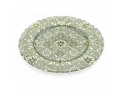 23238 ivv arabesque servirovaci tanier 32 cm zeleny