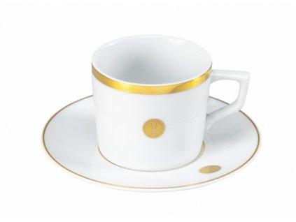 23583 meissen quot no 41 quot swords luxury gold espresso set 2 ks salka podsalka