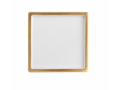 23592 meissen cosmopolitan gold podnos 13x13 cm