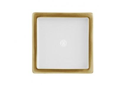 23595 meissen cosmopolitan gold miska 9x9 cm