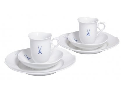 23613 meissen shape kavovy set 6 ks waves pur