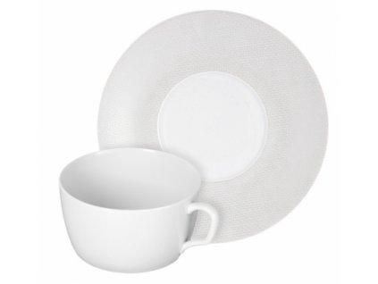23640 meissen cosmopolitan white mesh cappuccino set 2 ks