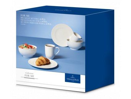 Villeroy & Boch - Raňajkový set pre dvoch - For me