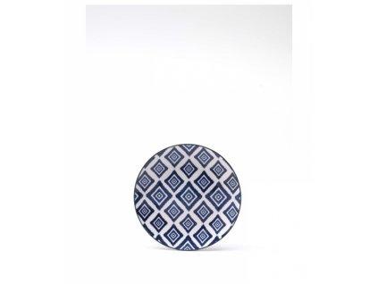 23865 zafferano tanier 20 5 cm rapsody in blu