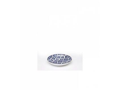 23868 zafferano tanier 21 5 cm rapsody in blu