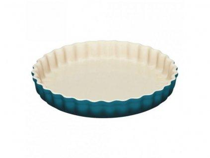 24033 le creuset forma 28 cm tarte deep teal