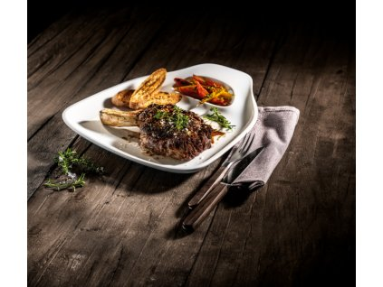 24285 villeroy and boch bbq passion 2x tanier na steak quot l quot 30x29 cm