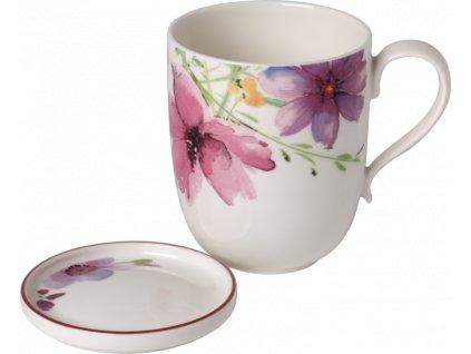 24504 villeroy amp boch mariefleur tea set hrncek miska na odkladanie cajovych sackov