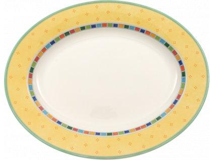 24699 villeroy amp boch ovalny tanier 34 cm twist alea limone