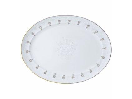 25311 vista alegre ovalny servirovaci tanier 32 x 42 cm paseo