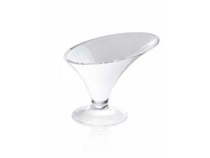 25335 ivv kalos misa 32 cm biele sklo