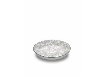 25476 zafferano hlboky tanier 20 cm sivy tue