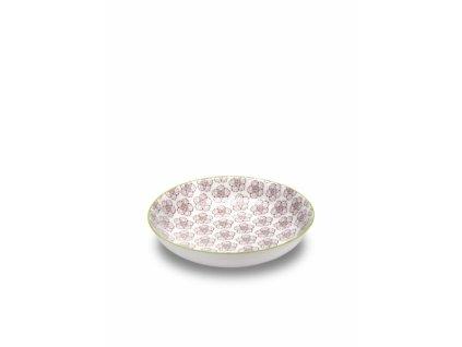 25479 zafferano hlboky tanier 20 cm ruzovy tue