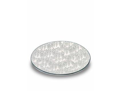 25485 zafferano plytky tanier 26 5 cm sivy tue