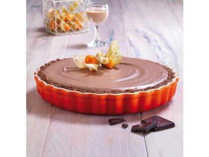 25848 le creuset forma 28 cm tarte oranzova
