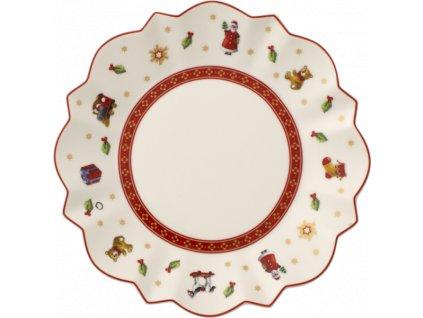 26550 toy 039 s delight pecivovy tanier biely 17 cm villeroy amp boch