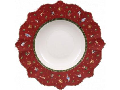 26553 toy 039 s delight hlboky tanier cerveny villeroy amp boch