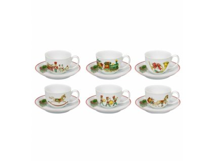 26718 vista alegre set 6x espresso salka 0 1l podsalka christmas magic