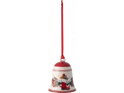 My Christmas Tree - zvonček so zvieratkami, 5,5 cm - Villeroy & Boch