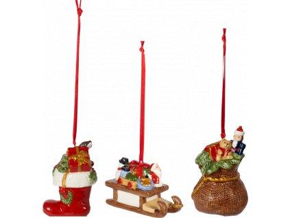 Nostalgic Ornaments - hračky, set 3ks - Villeroy & Boch