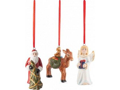 Nostalgic Ornaments - Santa, anjel, sob, set 3ks - Villeroy & Boch