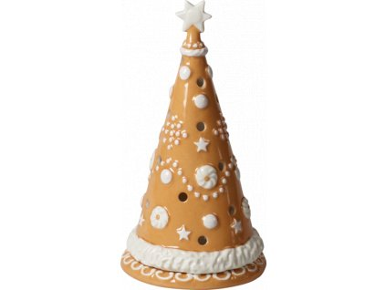 Villeroy & Boch - svietnik medovníkový stromček 21 cm - Winter Bakery Decoration
