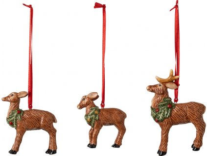27015 nostalgic ornaments pan a pani santovi so sobom set 3ks villeroy amp boch