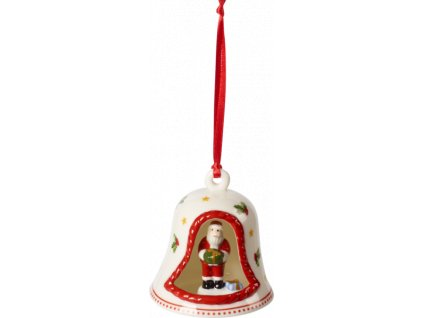 My Christmas Tree - zvonček so Santom, 8 cm - Villeroy & Boch