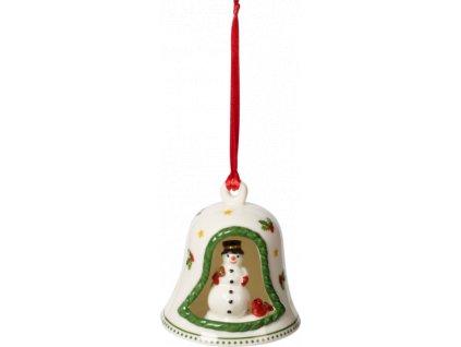 27027 my christmas tree zvoncek so snehuliakom 8 cm villeroy amp boch